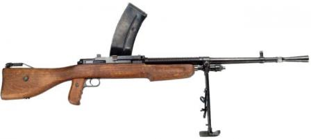 7x57mm Mendoza M1934 light machine gun.