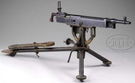 Colt Browning M1895/14 machine gun, made by Marlin Corp.