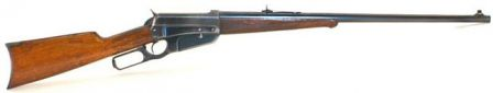 Hunting version of the Winchester M1895 rifle, chambered for .30-06.