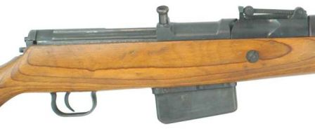 Walther G.41(W) rifle, close-up view.
