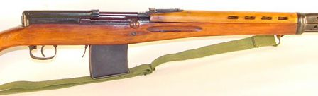 SVT-40, close-up view on the receiver.