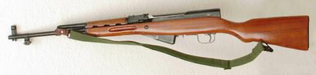 Another SKS, with removed bayonet.