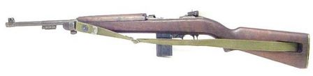 US M1 carbine, left side.