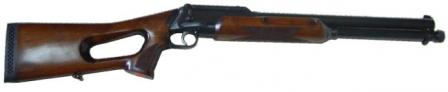 RMO-93 'Rys' (Lynx) huntingshotgun with fixed wooden stock.