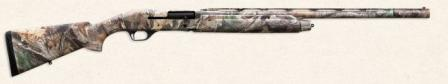 Stoeger model 2000 shotguns, standard hunting model with polymer stock and camouflaged finish.