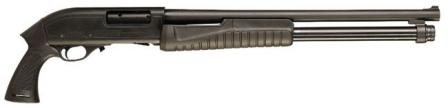 Hatsan Escort 'AimGuard' shotgun, with pistol grip and no butt.