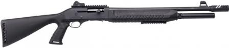 FABARM SAT-8 Pro Forces shotgun with non-adjustable stock.