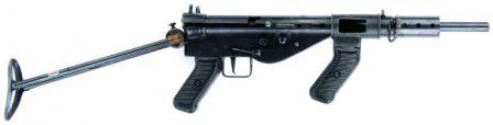 AUSTEN hafif makineli tüfek.