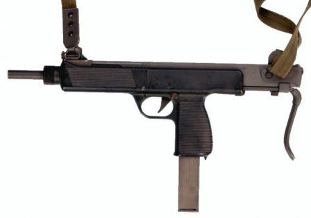 Steyr MPI 69 hafif makineli tüfek.