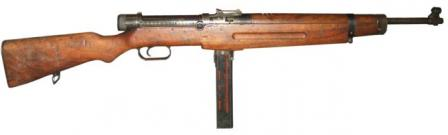 39M submachine gun.