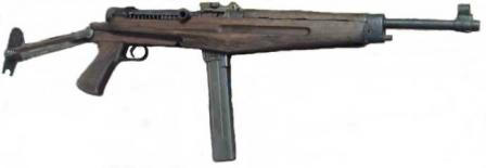 43M submachine gun.