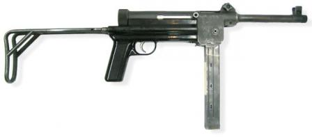 SIG MP-310 submachine gun.