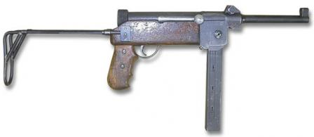 SIG MP-48 submachine gun.