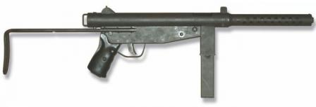 FBP m/976 submachine gun.