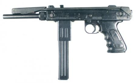 K6-92 / Borz submachine gun.