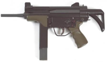 Indep Lusa A2 hafif makineli tüfek.