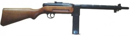Star RU-35 submachine gun, right side.