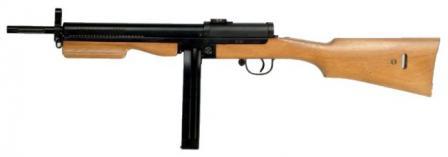 Madsen M1945 silahı makineli.