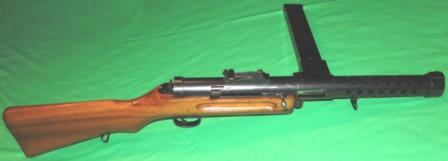 """SIG Model 1920 """"Brevet Bergmann"""" makineli tabanca."""