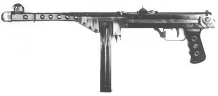 DUX Model 1953 makineli tabanca.