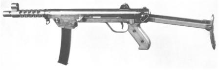 DUX Model 1959 makineli tabanca.