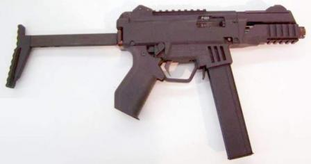 Prototype Laugo submachine gun, which served as a starting point for the design of SKORPION EVO III submachine gun.