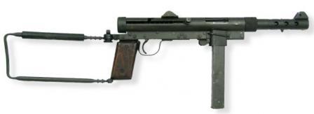 Port-Said, hafif makineli tüfek