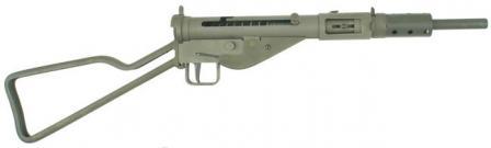 STEN Mk.II (STEN Mark 2) hafif makineli tüfek.