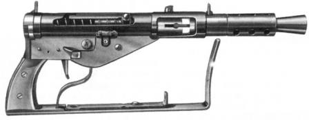 STEN Mk.IV (STEN Mark 4) hafif makineli tüfek.