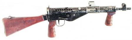 STEN Mk.V (STEN Mark 5) hafif makineli tüfek.