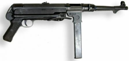 MP-38 submachine gun.