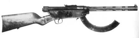 Suomi M / 26 makineli tabanca, kalibre 7,65x22 Parabellum.