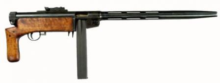 Пистолеты-пулемёты,автоматы Suomi_02