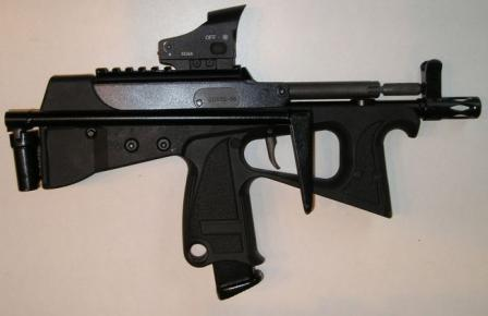 PP2000, current production version with detachable folding butt, right side.