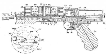Drawing from original patent, issued to Richard Casull in mid-1960s.