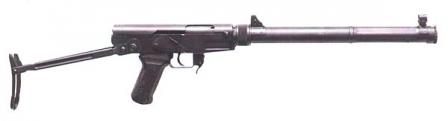 64 susturuldu makineli silah, daha az dergisi yazın.
