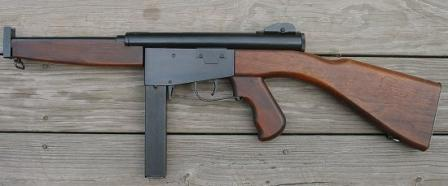 Ingram M6 (model 6) submachine gun in