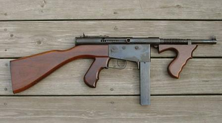 Ingram M7 (model 7) submachine gun in