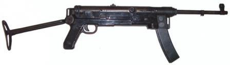 M56 makineli tabanca, popo açıldı.