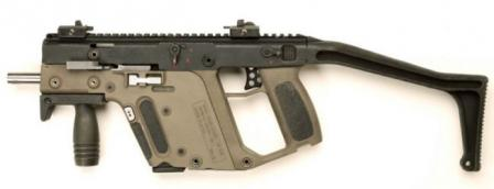 TDI Kriss Super V™submachine gun, prototype.