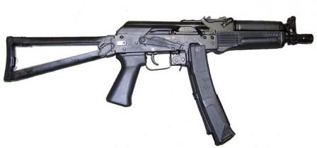 "PP-19-01 ""Vityaz"" submachine gun, right side."