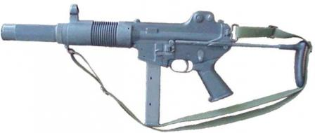 Daewoo K7 submachine gun.