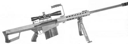 M82A1 rifle, current version.