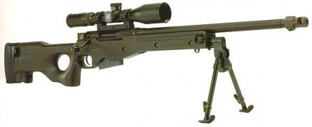 Accuracy International Arctic Warfare (AI AW 7,62) 7.62x51 sniper rifle.