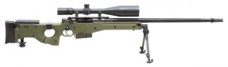 Accuracy International Arctic Warfare Magnum Folding (AI AWM F 300WM) .300 Winchester Magnum / 7.62x63 sniper rifle.