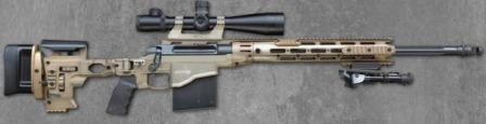 Remington MSR - Modular Sniper Rifle, ready to fire.