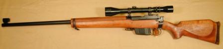 "Enfield ""Enforcer"" police sniper rifle."