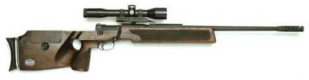 Mauser SP 66 sniper rifle.