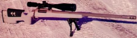 CheyTac Intervention M310 single shot Target / Law Enforcement rifle.