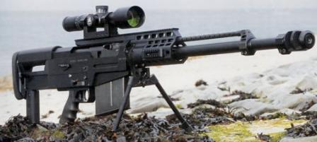 Accuracy InternationalAS50 sniper rifle.